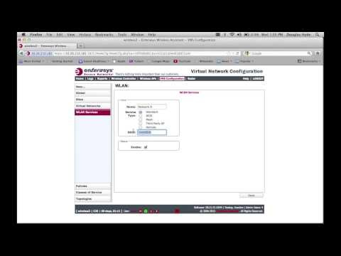 GTAC veteran Doug Hyde shows how to configure a Location Based topology on Enterasys Wireless Controllers