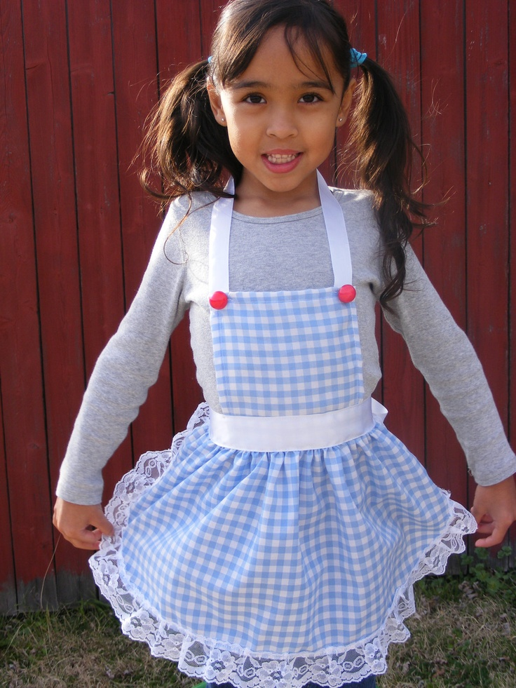 Childrens Apron, Dorothys The Wizard of Oz Inspired Apron. $19.99, via Etsy.