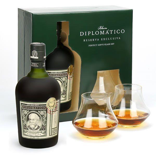 Diplomatico Reserva Exclusiva - Coffret 2 verres - Destilerias Unidas - BienManger.com
