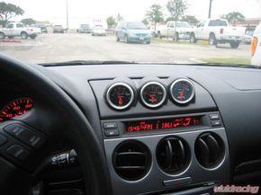 Lotek Triple Bullet Pod Dash Panel Mazda 6 03-08