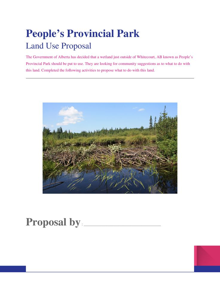 Inquiry project on land use in the wetlands Resource Preview