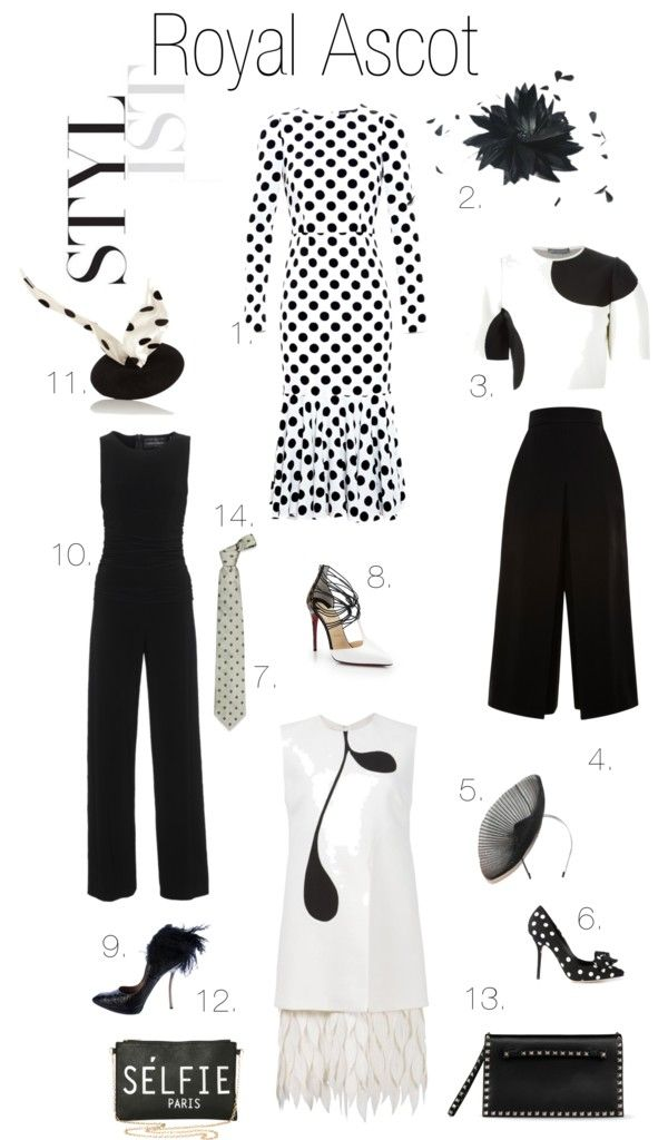 Royal Ascot Dress Code | Ginger Side of Life  Black and white looks for a summer garden party, the Royal Ascot or just a night out on the town.