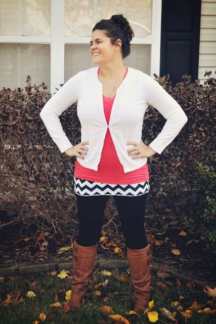 Leggings aren't pants! Great tutorial for making a knit skirt to layer over leggings-- perfect if your shirt isn't long enough to 'cover your business'! @craftytexasgirls.com #aztecskirt #sewingtutorial #skirt