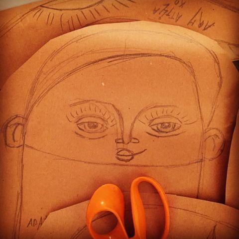 Sewing pattern for doll by Hieke Denijs