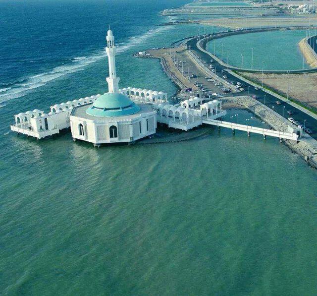 Beautiful ....floating Mosque - Jeddah , Saudi Arabia http://www.designhome.ae/category/architecture_design/