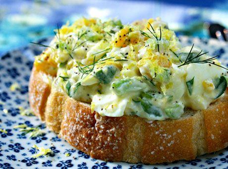 Dill And Lemon Deviled Eggs Recipes — Dishmaps