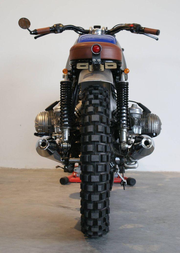 Umbau BMW R100 RS   Motorrad Tellenbrock