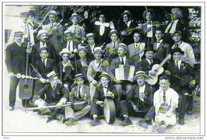 La banda di #Belgirate del 1938 ( #Verbania #Piedmont #Italy )