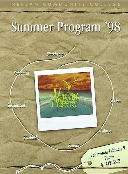 Summer Brochure 1998