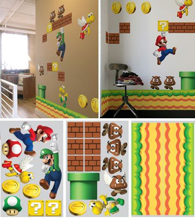 Blik New Super Mario Bros Wall Graphics