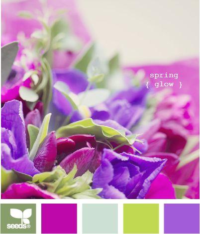 spring glow: grün-s40+c40+y50 purpur-m80+c60 hellgrün-s10+c30+y80 flieder-m50+c60 pur gefärbt sehr dunkel verdünnt 10ml Farbe+50 ml Essigwasser