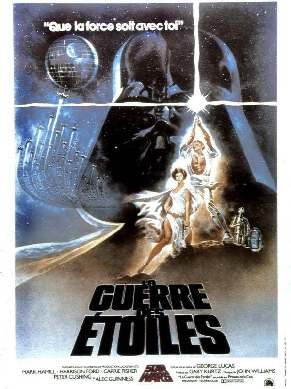 Affiche du film Star Wars épisode IV : un nouvel espoir