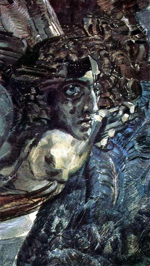 М.А. Врубель - Демон летящий (фрагмент)