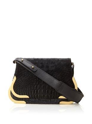 Lena Erziak Women's Matt Shoulder Bag, Black