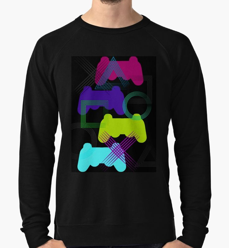 Save 20% on original gifts for original people. Use ORIGINAL20. Neon Gaming Longsleeve T-Shirt by emilypigou. #longsleevetshirt #sales #save #family #online #shopping #discount #gamer #gamertshirt #gamingtshirt #onlineshopping #redbubble #gifsforhim #giftsforhim #style #fashion #ps3 #popart #gaming