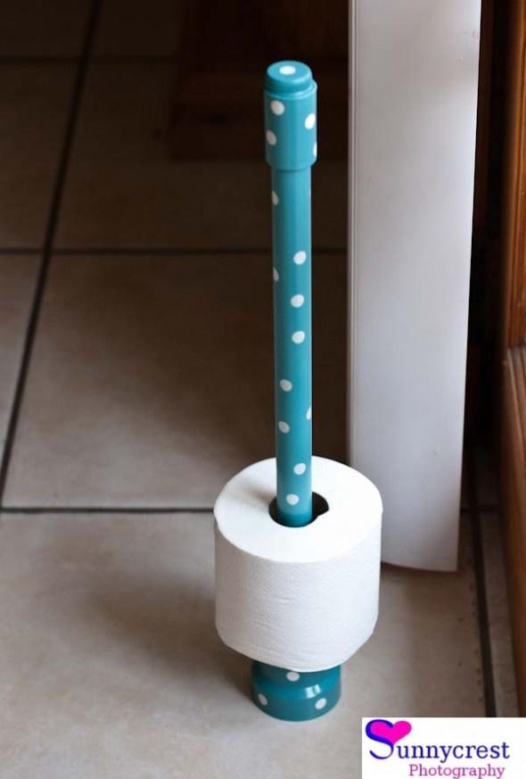 20 best diy toilet paper holder images on pinterest for Diy toilet paper storage