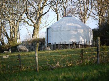 Botelet Yurts | Cornwall | #United #Kingdom #travel