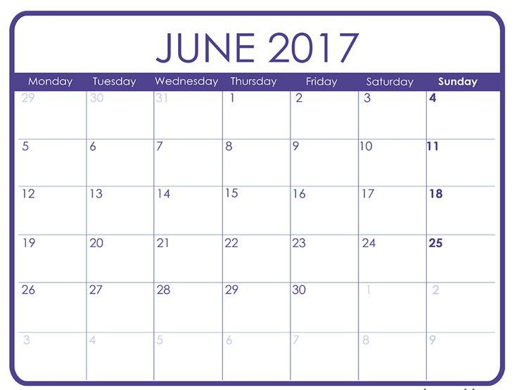 13 best calendar 2017 images on Pinterest Calendar 2017 - attendance calendar template