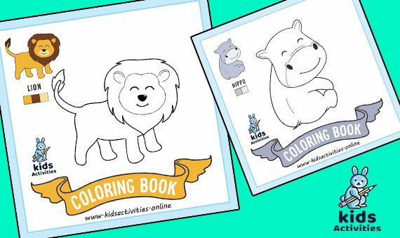 Cute Animal Coloring Pages For Kids Cute Animals Coloring Pages To Print Animals Coloring Animal Coloring Pages Cute Coloring Pages Coloring Pages For Kids