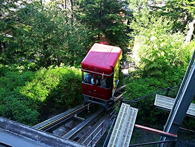 mytripadvice: Alaska From Creek street take the funicular to Cape Fox lodge, free WIFI and great Indian artifacts on display as well as Totem park outside