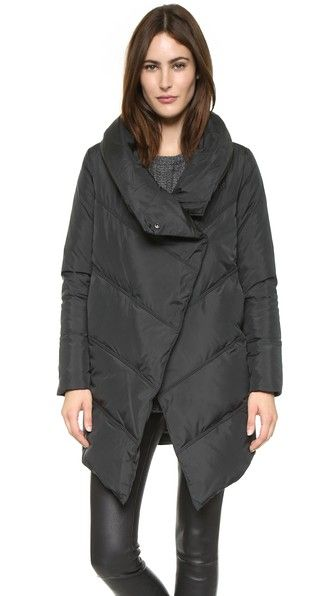 alice + olivia Vicki High Neck Puffer Coat