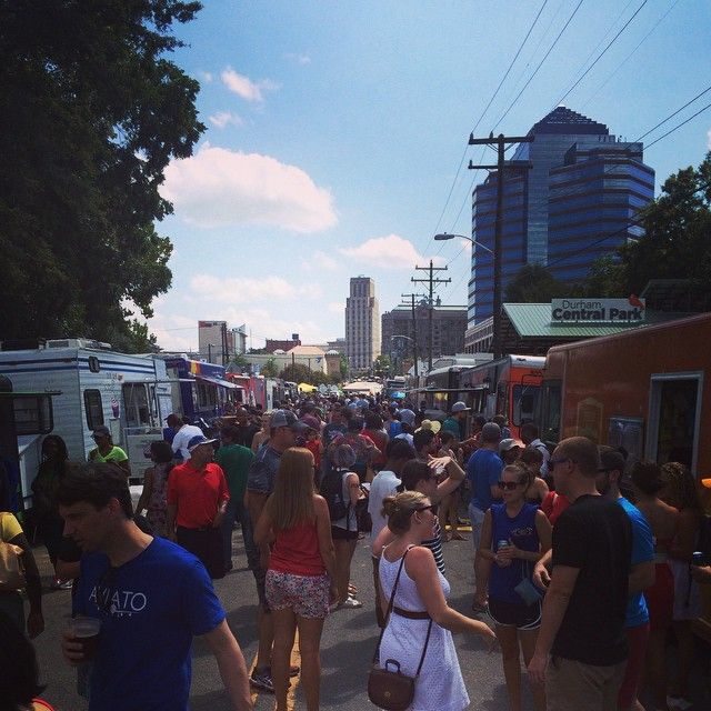 Food truck rodeo in Durham was awesome this weekend! I hope everyone had a great Labor Day weekend!  #foodtruck #durham #foodtruckrodeo #bestofthebull #bullcity