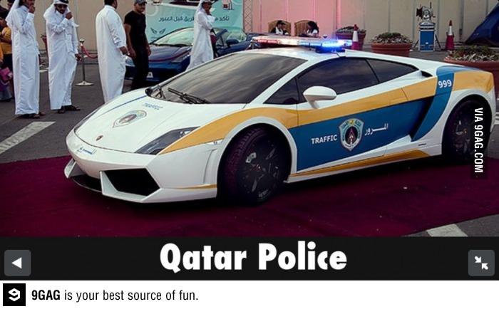 Luxury Car Outlet >> Qatar Police - Policeborghini   Police Stuff   Police
