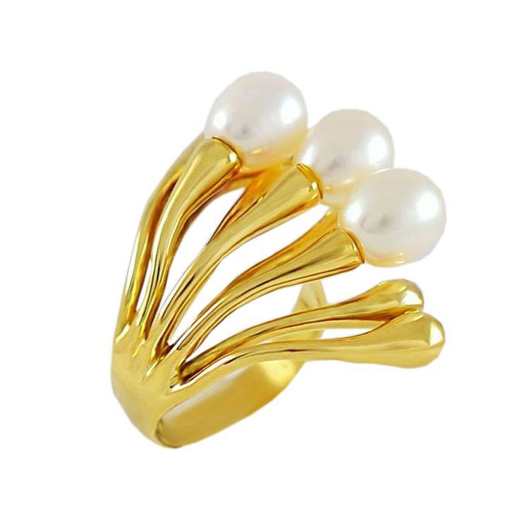 Δ522Τ -Χρυσό δαχτυλίδι