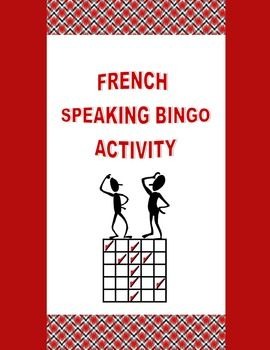 Practice grammar and vocabulary concepts while encouraging spoken production (CEFR) and whole-class participation with French Speaking Bingo.