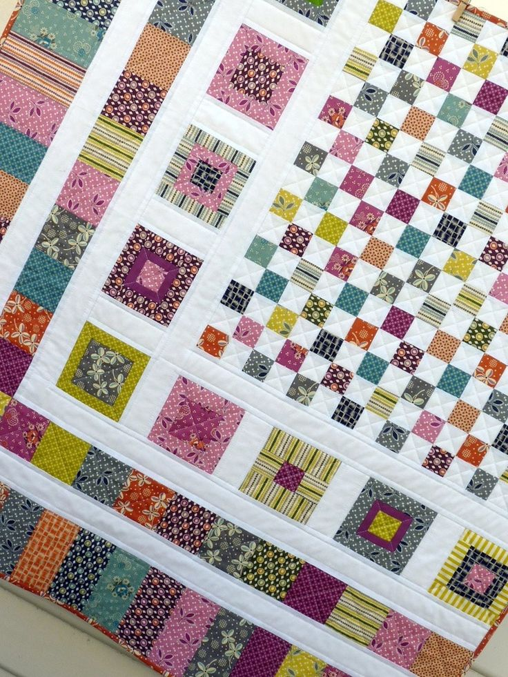 Modern Quilt Patterns For Beginners : 7878 best images about quilts on Pinterest