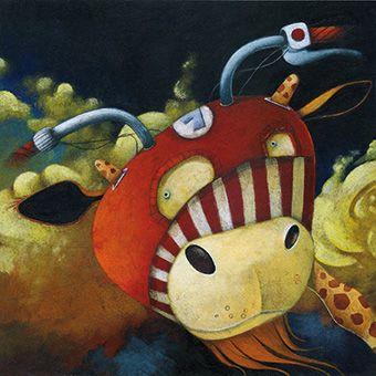 Illustratie voor een memorygame © Steven Van Hasten / www.vanhasten.be