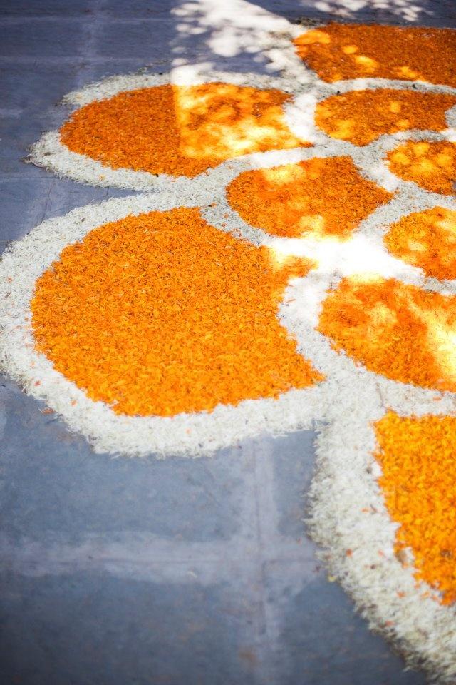 Decor by Punit Jasuja Indian Wedding Decor Marigold #Pinned by Devika Narain
