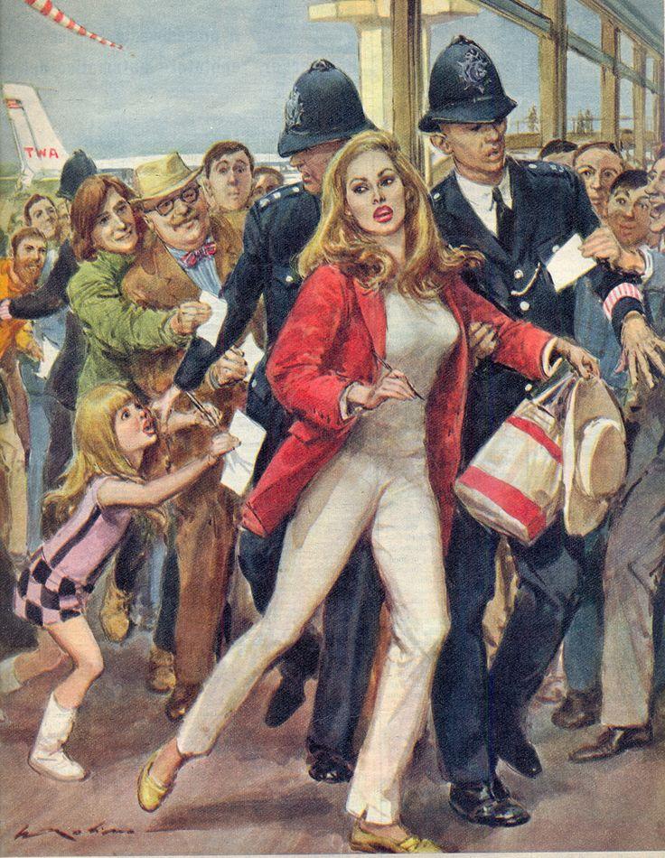 Illustration by Walter Molino - Поиск в Google