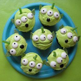 Martian Cupcakes apriluniverse
