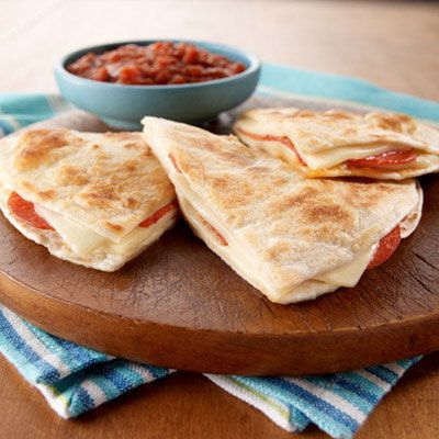 Pepperoni Pizzadilla- I made these today not knowing they have been already