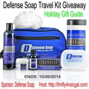 Defense Soap Deluxe Travel Kit Giveaway