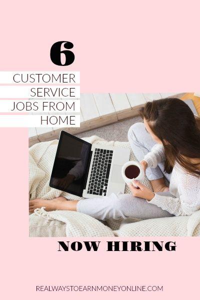 Customer Service Jobs From Home (6 Companies Hiring)
