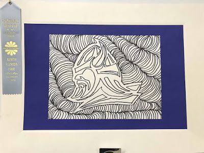 Kim & Karen: 2 Soul Sisters (Art Education Blog): Maclay's Winter Showcase And The Display Of Our Ribboned Art From The North Florida Fair
