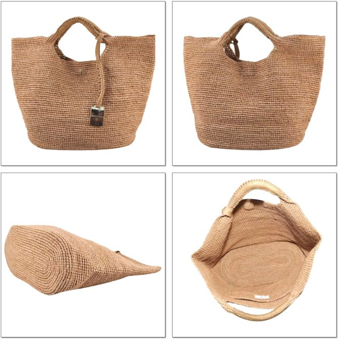 DEROQUE | Rakuten Global Market: HELEN KAMINSKI (Kaminski) GEORGIA MEDIUM BAG (Georgia medium bag) HAT ATTACK (hat attack) and SCALA (scalar) like to recommend ♪ made of raffia and shipping