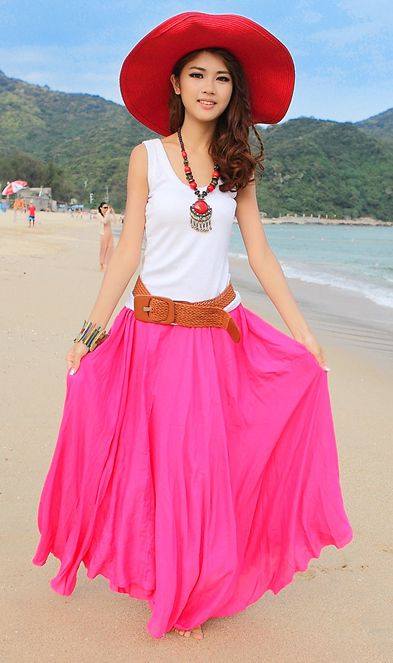 Be ready to be a sudden head turner girl at the beach with this Cotton kirts beach dress bohemian dress
