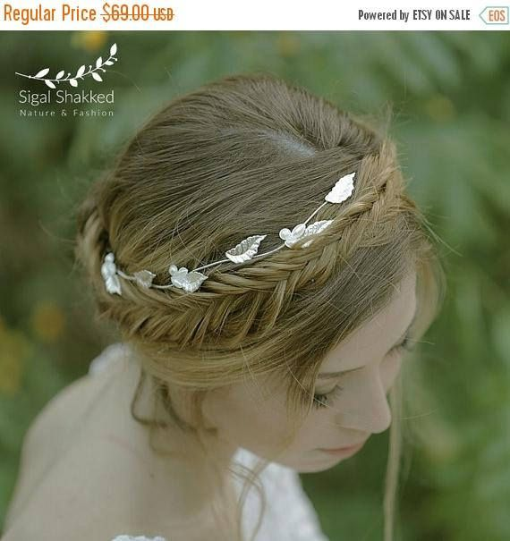 Silver Wedding Crown Wedding Headpiece Silver Bridal Tiara