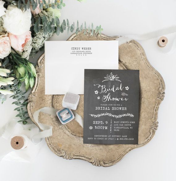10 best Bridal Shower Invitation Ideas images on Pinterest ...