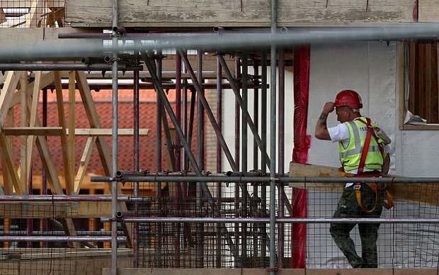 UK housebuilding grows at fastest pace in a decade