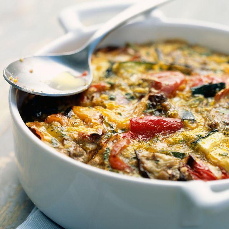 Découvrez la recette Gratin de courgettes et d'aubergines sur cuisineactuelle.fr.