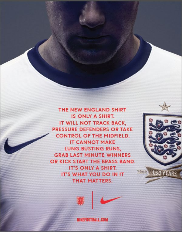 Nike: England National Team Kit Launch on Behance