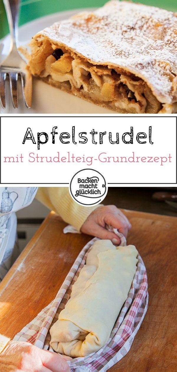 Ottima ricetta per un classico strudel di mele. Con un po 'di pratica e questo …