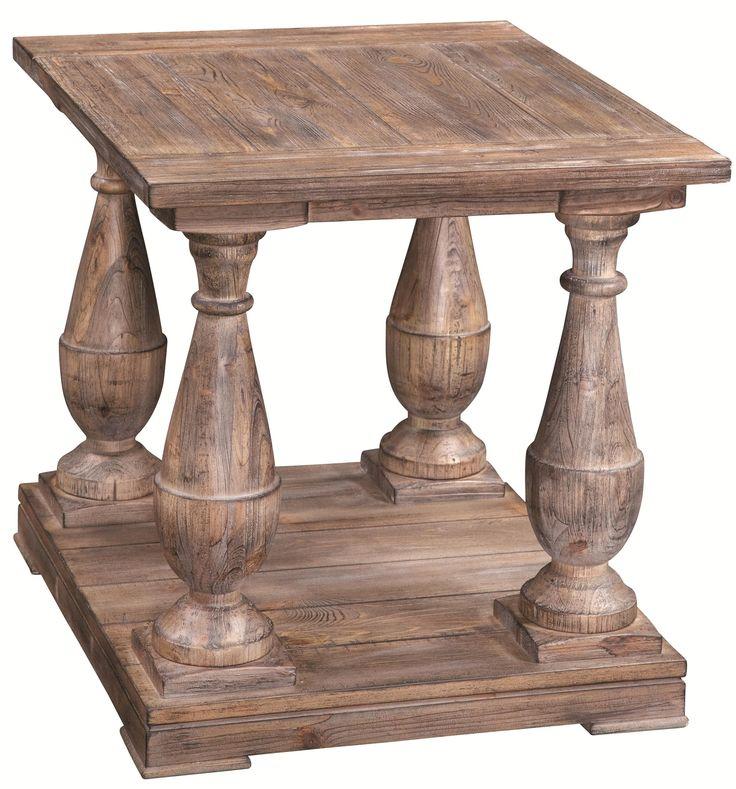 Hitchcock Rectangular End Table By Bassett Mirror