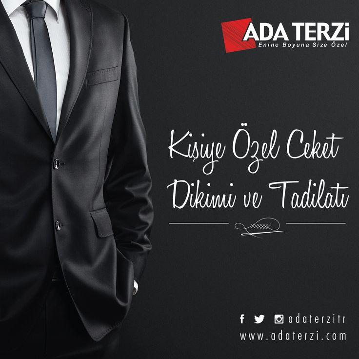 Kişiye özel ceket dikimi ve tadilatı...  Ada Terzi, #ANKAmall Bodrum Katta.