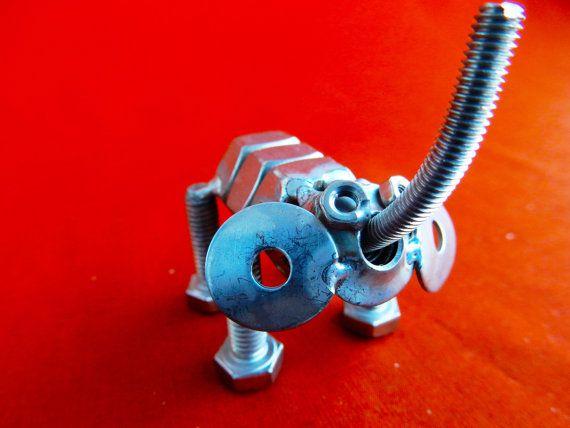 Elefantino portafortuna da collezione di stevieacciaio su Etsy