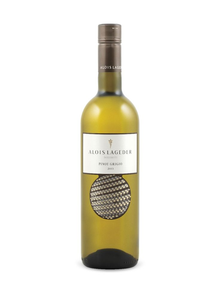 Alois Lageder Pinot Grigio 2013  Südtirol - Alto Adige D.O.C., Italy  Natalie's Score: 88/100  http://www.nataliemaclean.com/wine-reviews/alois-lageder-pinot-grigio-2013/218004  #wine